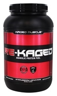 Kaged Muscle - Re-Kaged Anabolic Protein Fuel Strawberry Lemonade - 2.07 lbs.