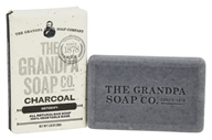Grandpa's Soap Co. - Face & Body Bar Soap Charcoal - 1.35 oz.