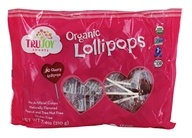 DROPPED: Organic Heart Shaped Lollipops Cherry - 30 Lollipop(s)