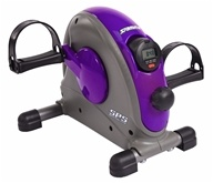 Stamina Products - Stamina Mini Exercise Bike with Smooth Pedal System Purple