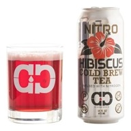 Caveman Coffee - Nitro Hibiscus Cold Brew Tea - 16 oz.