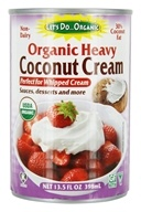 Let's DoOrganic - Organic Non-Dairy Heavy Coconut Cream