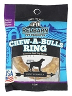 Redbarn - Chew-A-Bulls Beef Dog Chews Medium Ring
