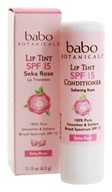 Babo Botanicals - Lip Tint Conditioner Seka Rose