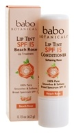 Babo Botanicals - Lip Tint Conditioner Beach Rose