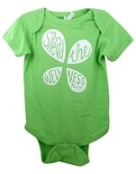 LuckyVitamin Gear - Infant Onesie 24 Months Green