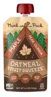 Ready-to-Eat Oatmeal Fruit Squeeze Pouch