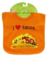 Pull-Over Bib I Love Tacos 9-18 Months