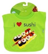 Pull-Over Bib I Love Sushi 9-18 Months