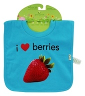 Green Sprouts - Pull-Over Bib I Love Berries