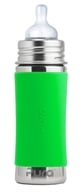 Pura - Stainless Steel Infant Bottle Green Sleeve