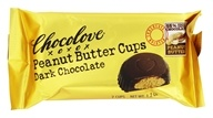 Chocolove - Peanut Butter Cups Dark Chocolate -