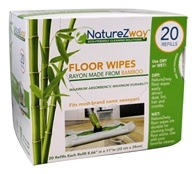 NatureZway - Wet or Dry Floor Wipes Made