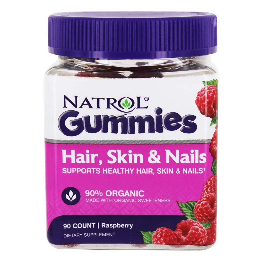 Hair, Skin & Nails Gummies 90% Organic