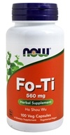 NOW Foods - Fo-Ti Herbal Supplement - Ho