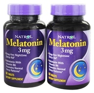 Natrol - Melatonin Twin Pack (60+60) 3 mg.