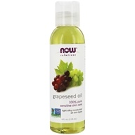 NOW Foods - Grapeseed Oil - 4 oz.