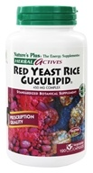 Nature's Plus - Herbal Actives Red Yeast Rice/Gugulipid
