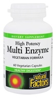High Potency Multi Enzyme Vegetarian Formula