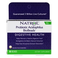 Probiotic Acidophilus BioBeads for Digestive Health
