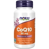 NOW Foods - CoQ10 Cardiovascular Health 30 mg.