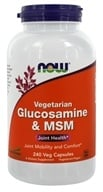 NOW Foods - Glucosamine and MSM - 240