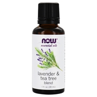 NOW Foods - Lavender-Tea Tree Oil - 1