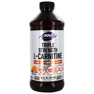 NOW Foods - L-Carnitine Liquid Triple Strength Citrus