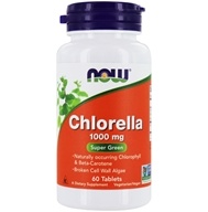 NOW Foods - Chlorella 1000 mg. - 60
