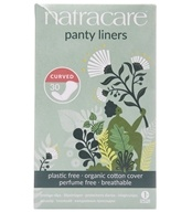 Natracare - Organic Cotton Natural Panty Liners Curved