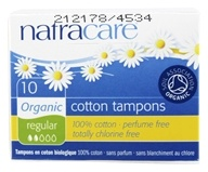 Natracare - Organic 100% Cotton Tampons Regular -