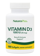 Nature's Plus - Vitamin D3 1000 IU -