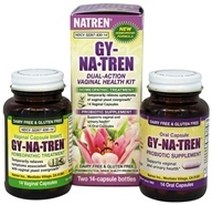 Natren - Gy-Na-Tren Vaginal Health Solution Kit