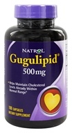 Natrol - Gugulipid 500 mg. - 100 Capsules