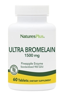Nature's Plus - Ultra Bromelain 1500 - 60