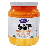 NOW Foods - L-Glutamine Powder 100% Pure -