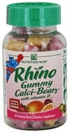 Nutrition Now - Rhino Gummy Calci-Bears with Vitamin