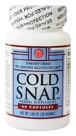 Cold Snap Caps