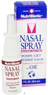 Nutribiotic - Nasal Spray with GSE - 1