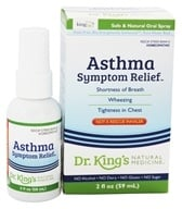 King Bio - Homeopathic Natural Medicine Asthma Symptom Relief - 2 oz. formerly Asthma Free...