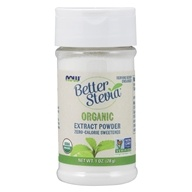 NOW Foods - Better Stevia Extract Powder -