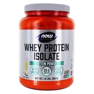 NOW Foods - Whey Protein Isolate Vanilla -
