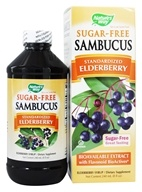 Sambucus Bio-Certified Black Elderberry Syrup Sugar-Free