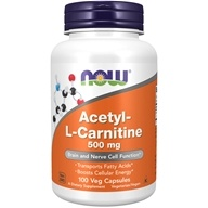 NOW Foods - Acetyl L-Carnitine 500 mg. -