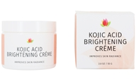 Professional Strength Brown Spot Brightening Night Face Creme with Kojic Acid