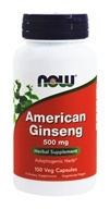NOW Foods - American Ginseng 5% Ginsenoside 500