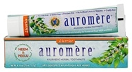 Auromere - Ayurvedic Herbal Toothpaste Licorice - 4.16