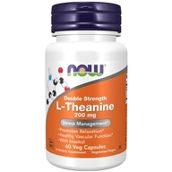 NOW Foods - L-Theanine 200 mg. - 60