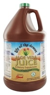 Aloe Vera Juice Whole Leaf Organic Gallon