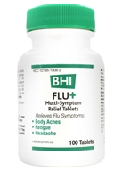 BHI/Heel - Flu+ - 100 Tablets Formerly Flu